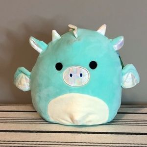 Teal Dragon Squishmallow 7 inch